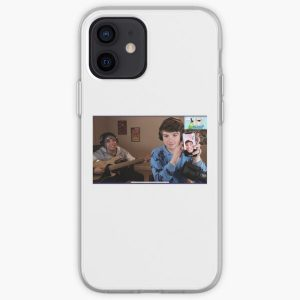 Quackity and Karl Jacobs iPhone Soft Case RB1006 product Offical Karl Jacobs Merch