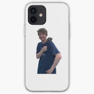Karl Jacobs iPhone Soft Case RB1006 product Offical Karl Jacobs Merch