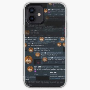 The Beauty and Essence of Karl Jacob's Tweets  iPhone Soft Case RB1006 product Offical Karl Jacobs Merch