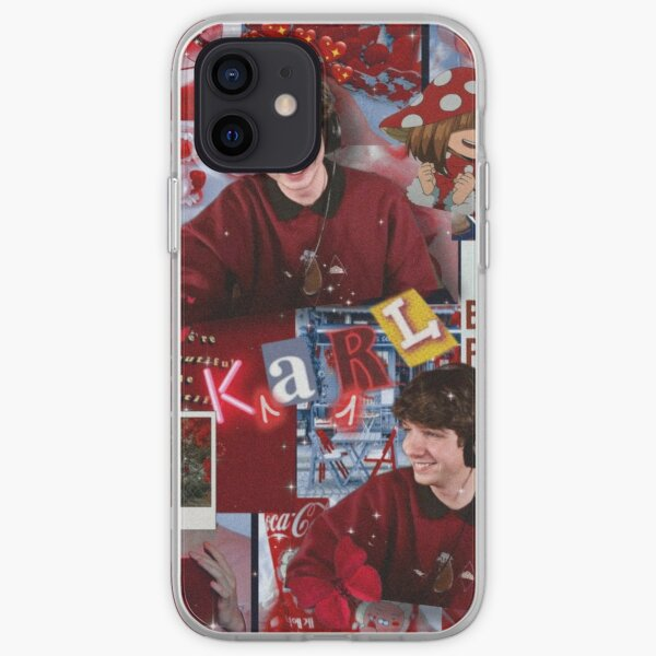 Karl Jacobs   Aesthetic Collage  iPhone Soft Case RB1006 product Offical Karl Jacobs Merch