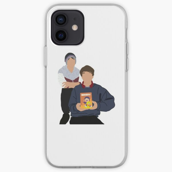 Karl jacobs and quackity iPhone Soft Case RB1006 product Offical Karl Jacobs Merch