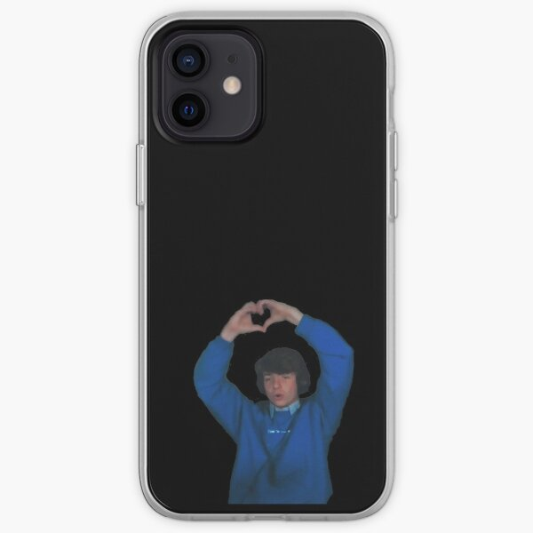 heart karl iPhone Soft Case RB1006 product Offical Karl Jacobs Merch