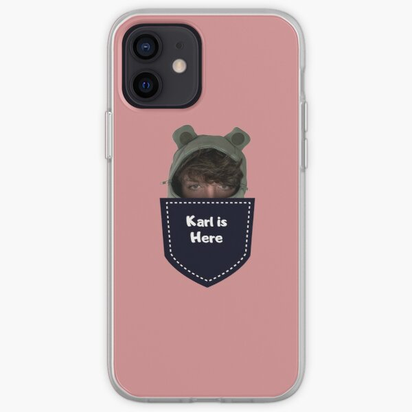 Karl Jacobs in my pocket iPhone Soft Case RB1006 product Offical Karl Jacobs Merch