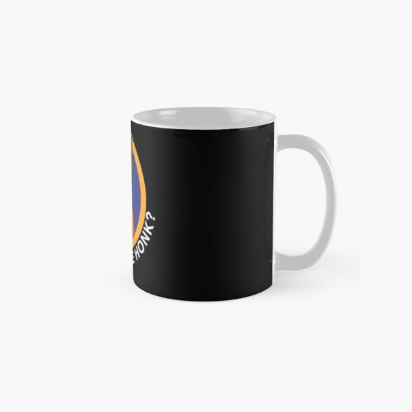 shh... What the honk? Karl Jacobsss quote for Classic Mug RB1006 product Offical Karl Jacobs Merch