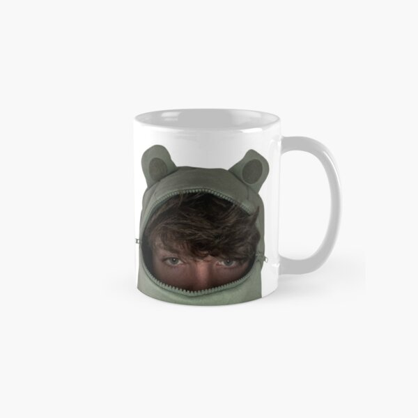Karl Jacobs in a frog hoodie Classic Mug RB1006 product Offical Karl Jacobs Merch