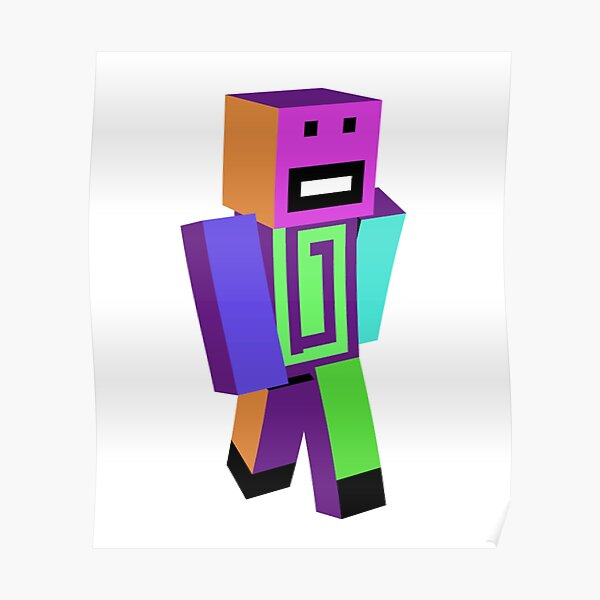 Karl jacobs mcyts poggers dream team simp minecraft caracter Poster RB1006 product Offical Karl Jacobs Merch