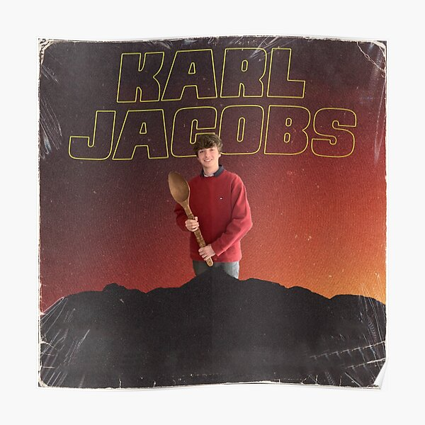 karl jacobs - Vinatge look poster - Karl Jacobs Best Poster RB1006 product Offical Karl Jacobs Merch