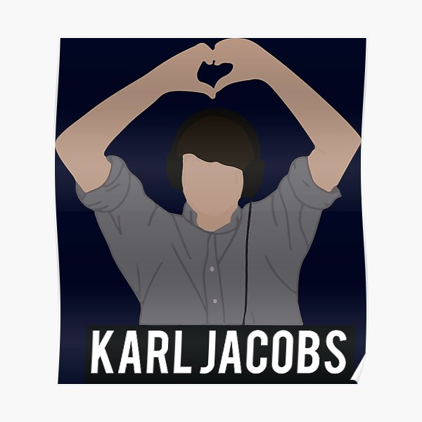 Copy of karl jackobs youtuber Poster RB1006 product Offical Karl Jacobs Merch