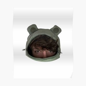 Karl Jacobs Frog Poster RB1006 product Offical Karl Jacobs Merch