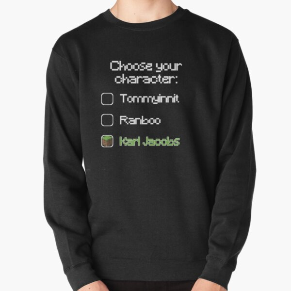 Choose your character - Karl Jacobs Pullover Sweatshirt RB1006 product Offical Karl Jacobs Merch