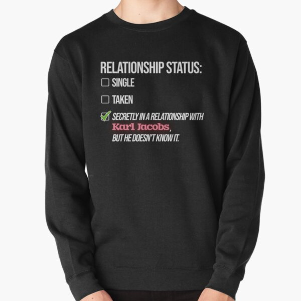 Relationship with Karl Jacobs Pullover Sweatshirt RB1006 product Offical Karl Jacobs Merch