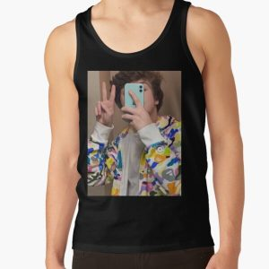 Karl Jacobs | Selfie | Dream SMP | Tales from the SMP Tank Top RB1006 product Offical Karl Jacobs Merch