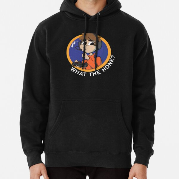 shh... What the honk? Karl Jacobsss quote for Pullover Hoodie RB1006 product Offical Karl Jacobs Merch