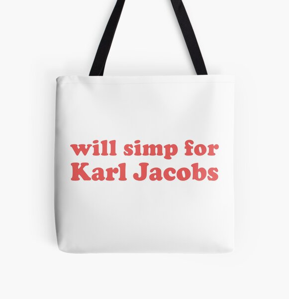 will simp for karl jacobs karl jacobs simp All Over Print Tote Bag RB1006 product Offical Karl Jacobs Merch