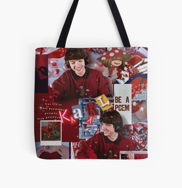 Karl Jacobs | Aesthetic Collage  All Over Print Tote Bag RB1006 product Offical Karl Jacobs Merch