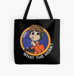 shh... What the honk? Karl Jacobsss quote for All Over Print Tote Bag RB1006 product Offical Karl Jacobs Merch