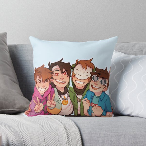 Karl jacobs mrbeast mcyts poggers dream team simp minecraft  Throw Pillow RB1006 product Offical Karl Jacobs Merch