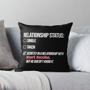 Relationship with Karl Jacobs Throw Pillow RB1006 product Offical Karl Jacobs Merch