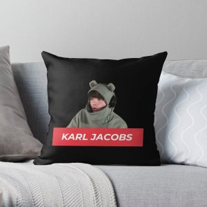 Karl Jacobs Throw Pillow RB1006 product Offical Karl Jacobs Merch