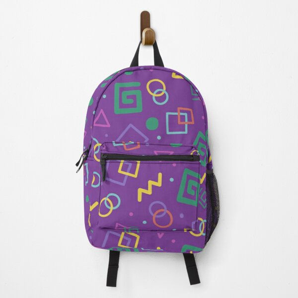 Karl Jacobs Bowling Alley Carpet Design Backpack RB1006 product Offical Karl Jacobs Merch