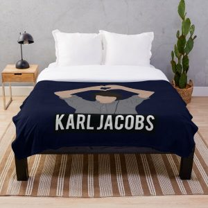Copy of karl jackobs youtuber Throw Blanket RB1006 product Offical Karl Jacobs Merch