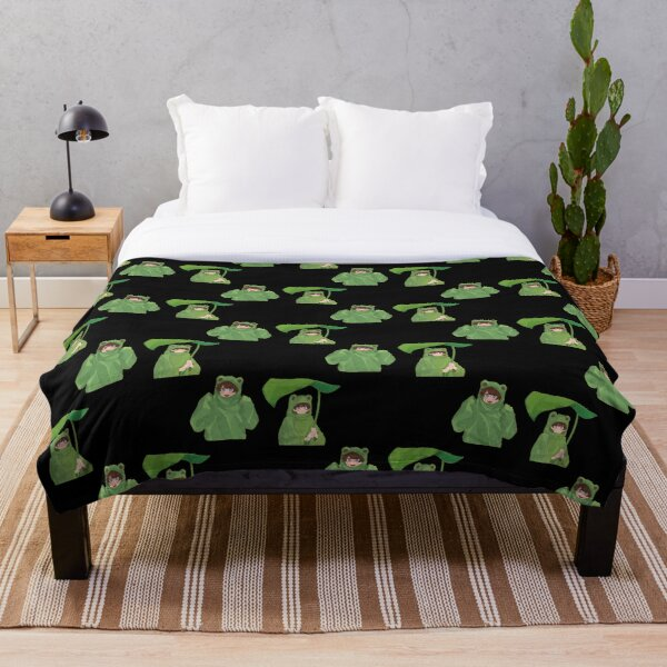 Karl Jacobs Frog Throw Blanket RB1006 product Offical Karl Jacobs Merch