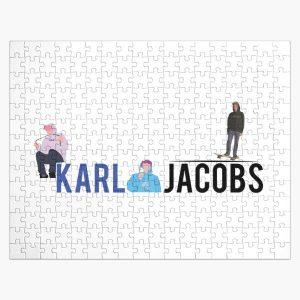 karl jacobs youtuber Jigsaw Puzzle RB1006 product Offical Karl Jacobs Merch