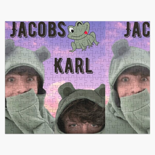 Karl Jacobs Frog Jigsaw Puzzle RB1006 product Offical Karl Jacobs Merch