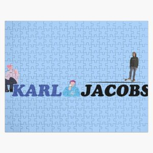 karl jacobs the best youtuber Jigsaw Puzzle RB1006 product Offical Karl Jacobs Merch