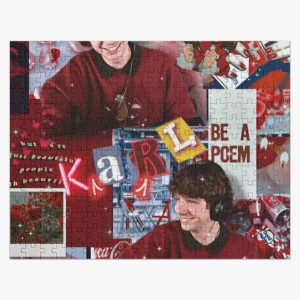 Karl Jacobs | Aesthetic Collage  Jigsaw Puzzle RB1006 product Offical Karl Jacobs Merch