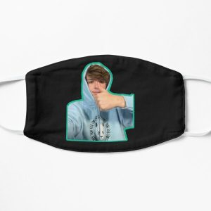 karl jacobs swirl Flat Mask RB1006 product Offical Karl Jacobs Merch