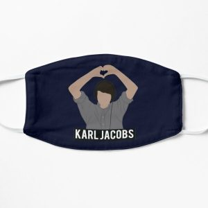 Copy of karl jackobs youtuber Flat Mask RB1006 product Offical Karl Jacobs Merch
