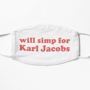 will simp for karl jacobs karl jacobs simp Flat Mask RB1006 product Offical Karl Jacobs Merch