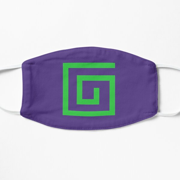 Karl Jacobs Logo Minecraft Flat Mask RB1006 product Offical Karl Jacobs Merch