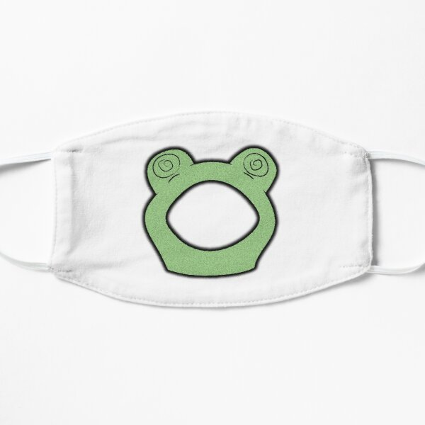 karl jacobs frog Flat Mask RB1006 product Offical Karl Jacobs Merch