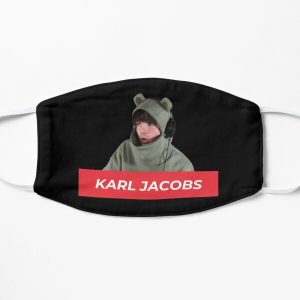 Karl Jacobs Flat Mask RB1006 product Offical Karl Jacobs Merch