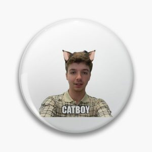 Catboy Karl Jacobs  Pin RB1006 product Offical Karl Jacobs Merch