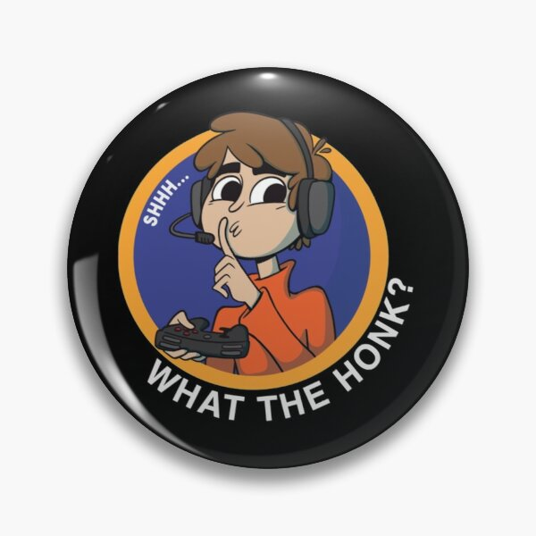 shh... What the honk? Karl Jacobsss quote for Pin RB1006 product Offical Karl Jacobs Merch