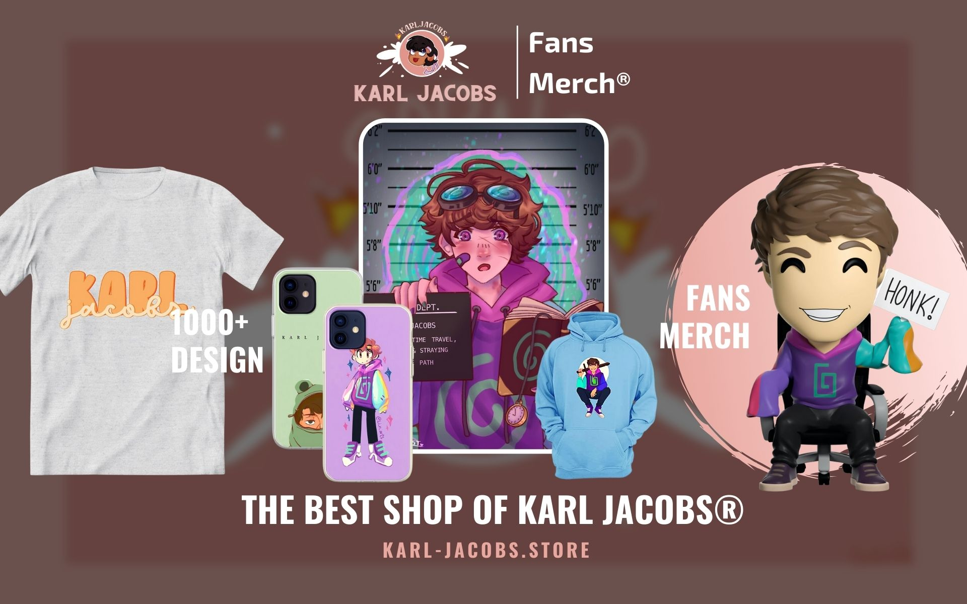Karl Jacobs Merch Web Banner - Karl Jacobs Merch